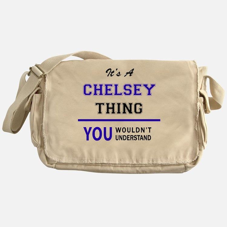 Cute Chelsey Messenger Bag