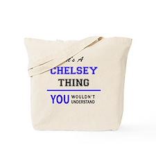 Cute Chelsey Tote Bag