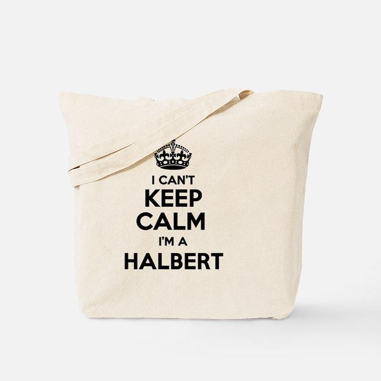 Cute Halbert Tote Bag