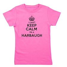 Cute Harbaugh Girl's Tee