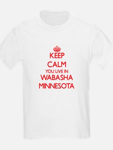 Keep calm you live in Wabasha Minnesota T-Shirt