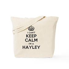 Funny Hayley Tote Bag