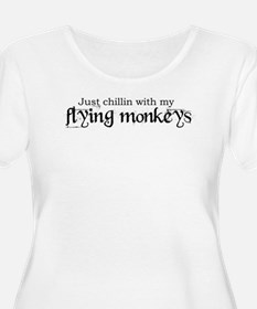 flyinmonkeys2 Plus Size T-Shirt