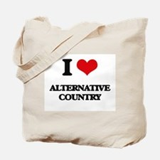 I Love ALTERNATIVE COUNTRY Tote Bag