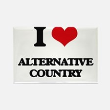 I Love ALTERNATIVE COUNTRY Magnets