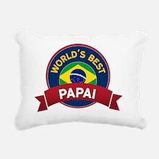 World's Best Rectangular Canvas Pillow