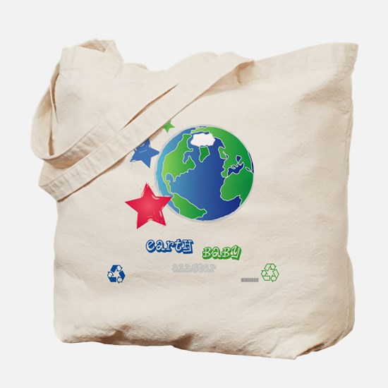 Cute Earth day baby Tote Bag