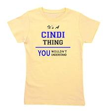 Funny Cindy Girl's Tee