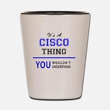 Cute Cisco Shot Glass