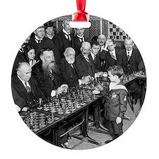 samuel Reshevsky VS The World Ornament