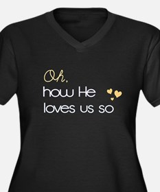 How He Loves Us Plus Size T-Shirt