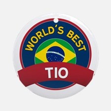 World's Best Tio Ornament (Round)