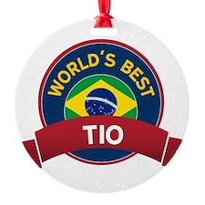World's Best Tio Ornament