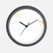 How He Loves Us Wall Clock