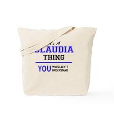 Unique Claudia Tote Bag