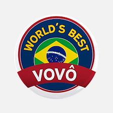 """World's Best Vovo 3.5"""" Button"""