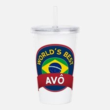 World's Best Avo Acrylic Double-wall Tumbler