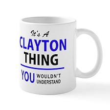 Cute Clayton Mug