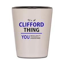 Unique Clifford Shot Glass