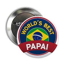 "World's Best Papai 2.25"" Button (100 pack)"