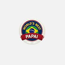 World's Best Papai Mini Button