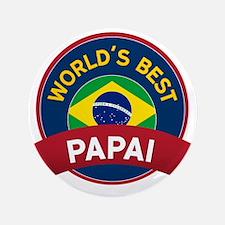 "World's Best Papai 3.5"" Button"