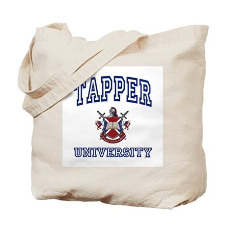 TAPPER University Tote Bag