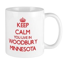 Keep calm you live in Woodbury Minnesota Mugs