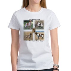 The Brittany The Better Bird Dog Tee