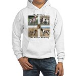 The Brittany The Better Bird Dog Hooded Sweatshirt