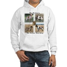 The Brittany The Better Bird Dog Hoodie