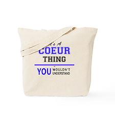 Cute Coeur Tote Bag