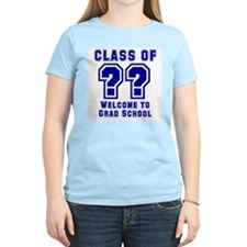 """Class of ?? Welcome..."" Women's Pink T-Shirt"