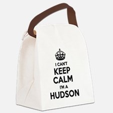 Cute Hudson Canvas Lunch Bag