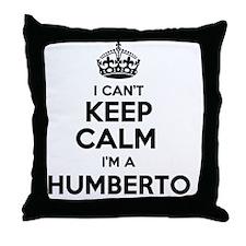 Funny Humberto Throw Pillow