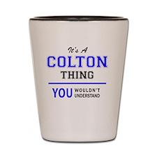 Unique Colton Shot Glass