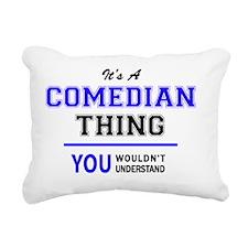 Unique Comedian Rectangular Canvas Pillow
