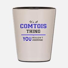 Funny Comtois Shot Glass