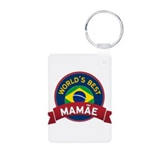 World's Best Mamae Keychains