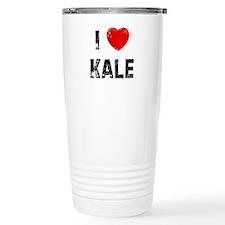 Cute Kale Travel Mug