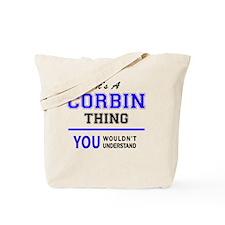 Cute Corbin Tote Bag