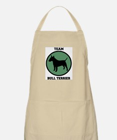 Team  Bull Terrier (green) BBQ Apron