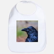 Portrait of a Raven Bib