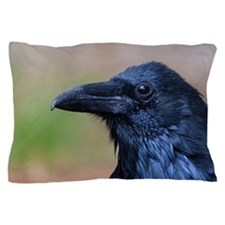 Portrait of a Raven Pillow Case