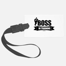 Boss In Training Luggage Tag