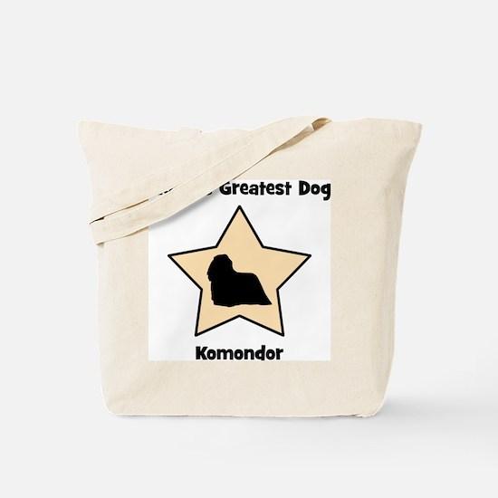 Worlds Greatest Komondor (sta Tote Bag