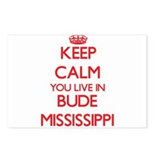 Keep calm you live in Bud Postcards (Package of 8)