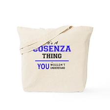 Cute Cosenza Tote Bag