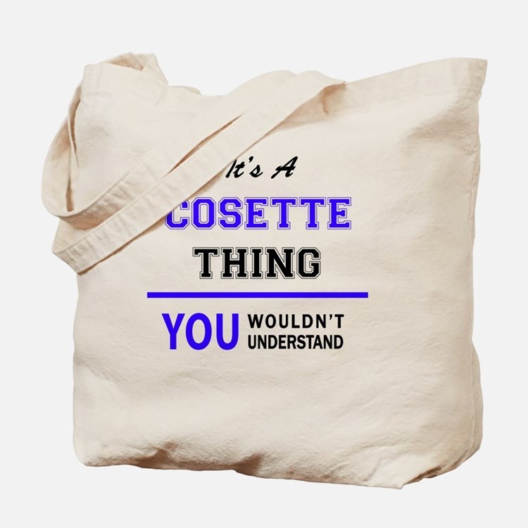 Cute Cosette Tote Bag