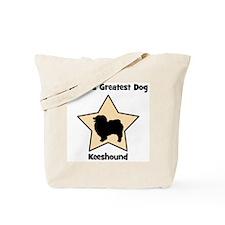 Worlds Greatest Keeshound (st Tote Bag